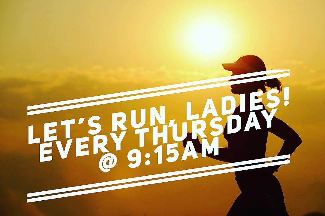 Sole Sisters Social Run (Ladies Only)-Thursdays 9:15am